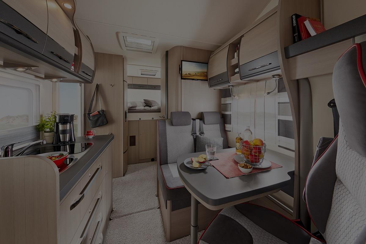 Siesta De Luxe Hobby Caravan